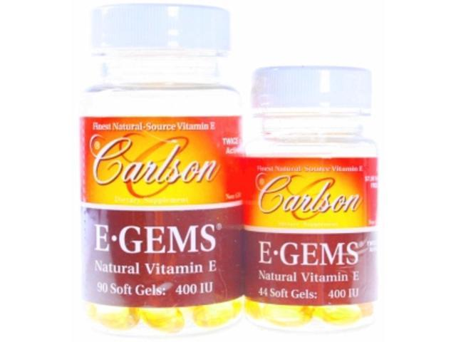 E-Gems 400 IU - Carlson Laboratories - 134 - Softgel