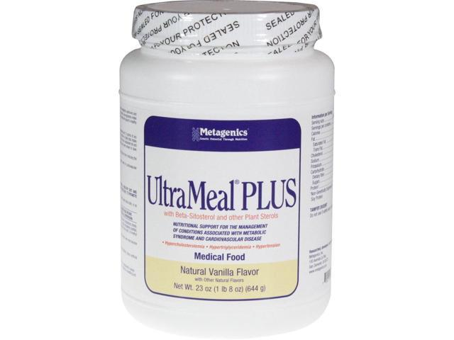 Metagenics UltraMeal PLUS Vanilla 23 oz