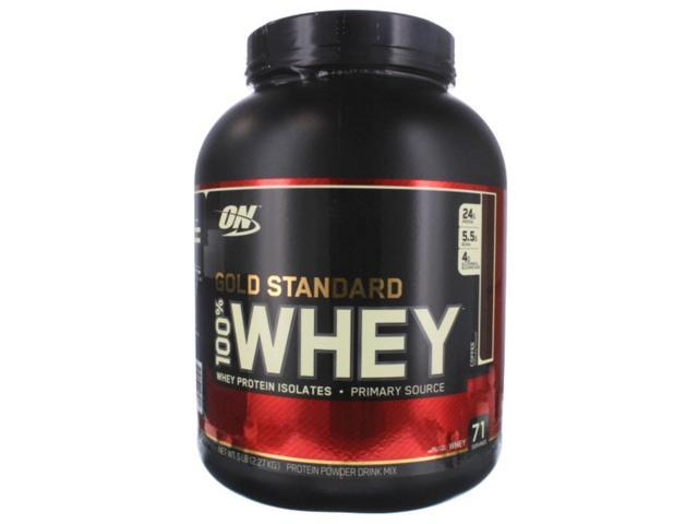 100% Whey Protein, Coffee, 5 lbs, From Optimum Nutrition