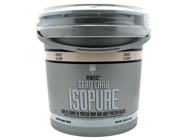 Nature's Best Perfect Zero Carb Isopure Cookies & Cream 7.5 lb (3.4 kg)