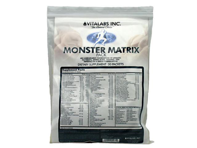 Vitalabs Monster Matrix Pack 30 packets (180 tablets)