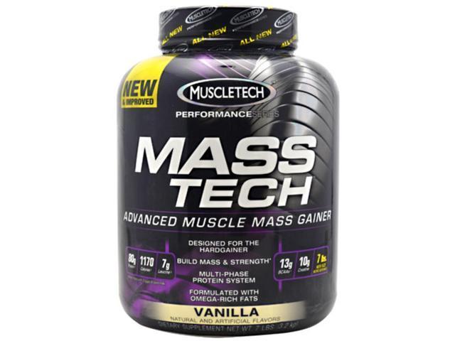 Performance Series Mass Tech Vanilla - Muscletech - 7 lb - Powder