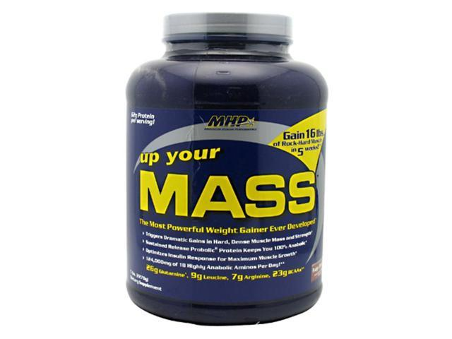 MHP Up Your Mass Fudge Brownie 5 lbs (2270 g)