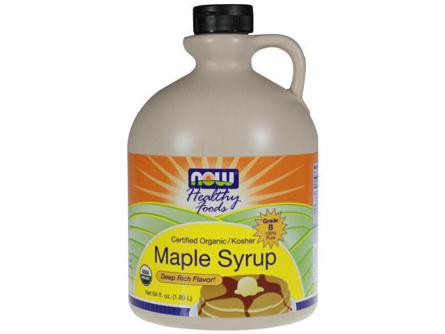 Organic Maple Syrup Grade B 64 fl oz