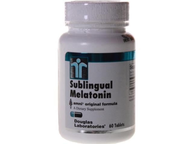 Douglas Labs Sublingual Melatonin 1 mg 60 Tablets