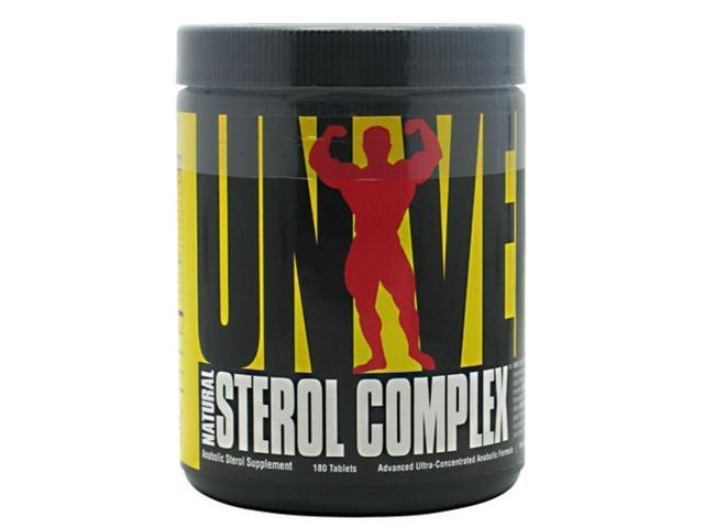 Natural Sterol Complex, Mass And Density Enhancer, 180 Tablets, From Universal Nutrition