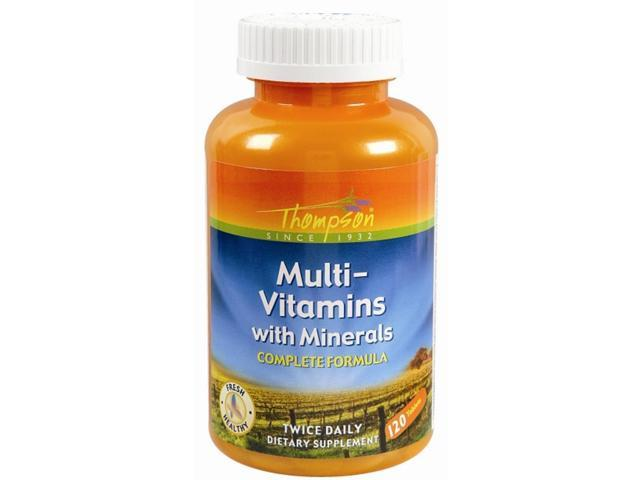 Multi Vitamins with Minerals - 120 - Tablet