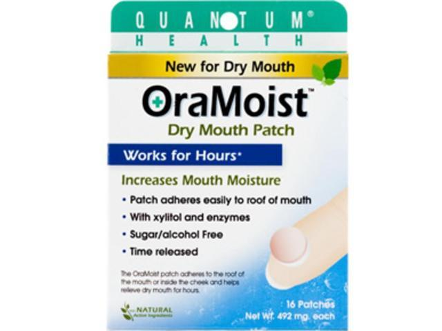 Quantum Health, OraMoist Dry Mouth Patch 16 Discs