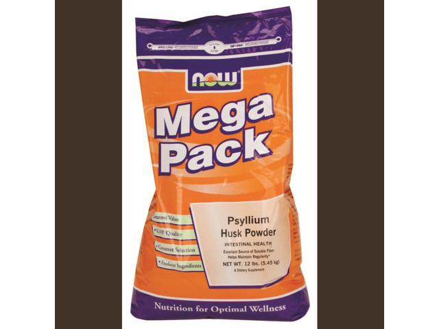 Now Foods Mega Pack Psyllium Husk Powder 12 lbs