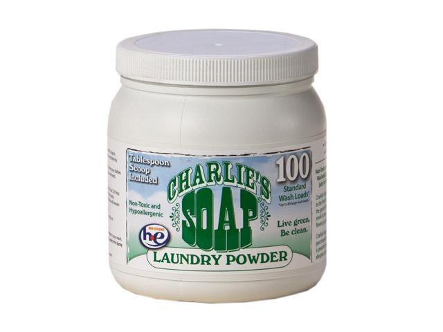 Charlie's Soap Laundry Powder 100 Medium Load Jar