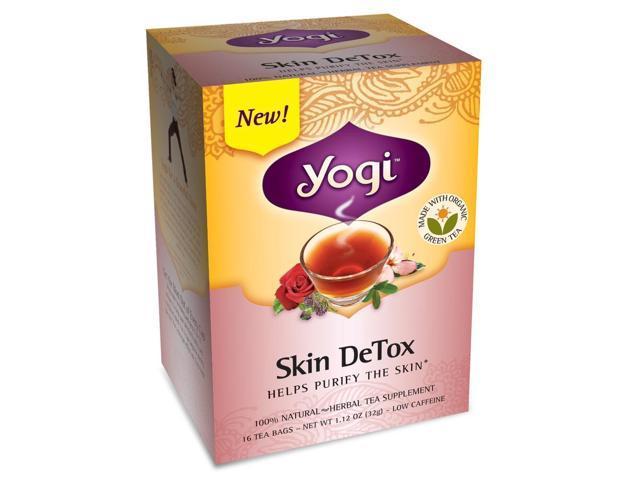 Yogi Skin Detox Tea 16 Tea Bags
