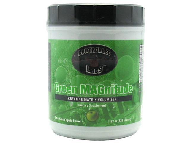 Controlled Labs Green MAGnitude Sour Green Apple Flavor 1.83 lb (835 g)
