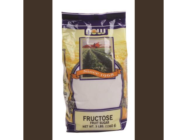 NOW? Real Food - Fructose Fruit Sugar - 3 lbs (1361 Grams) by NOW