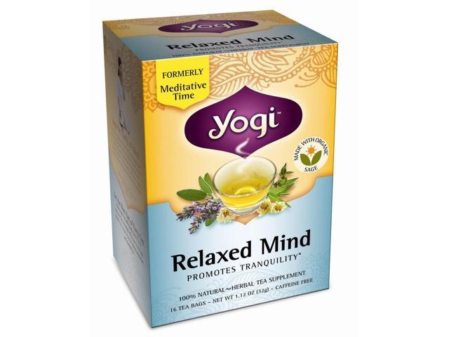 Yogi Relaxed Mind 16 Tea Bags