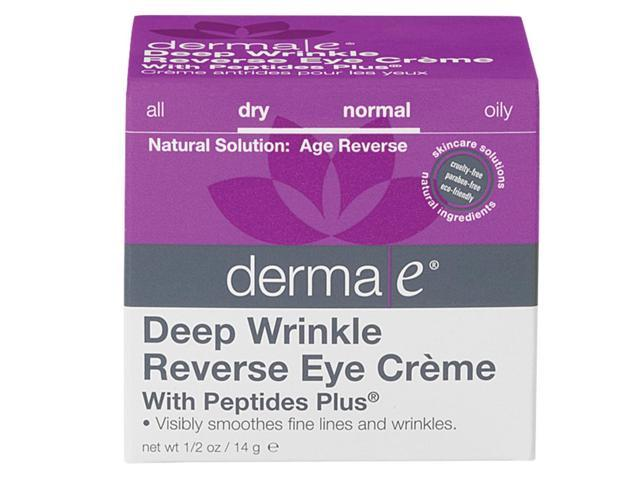 Deep Wrinkle Reverse Eye Crme  With Peptides Plus - Derma-E - 0.50 oz - Cream