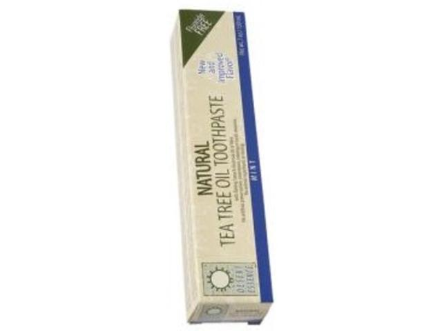 Toothpaste-Mint with Tea Tree Oil - Desert Essence - 6.4 oz - Paste