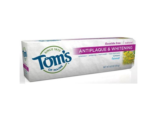 Toothpaste Tartar Control/Whitening Fennel - Tom's Of Maine - 5.5 oz - Paste