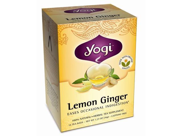Lemon Ginger Tea - 16 Tea Bags by Yogi Tea