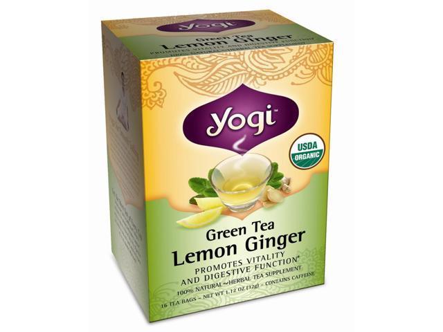 Green Tea Lemon Ginger 16 Tea Bags