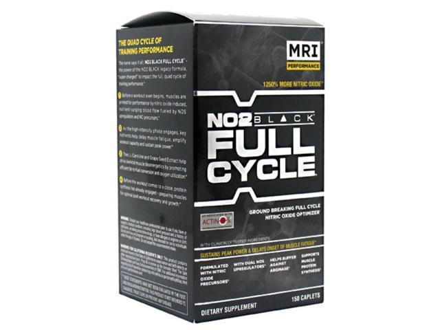 MRI NO2 Black Full Cycle 150 Caplets