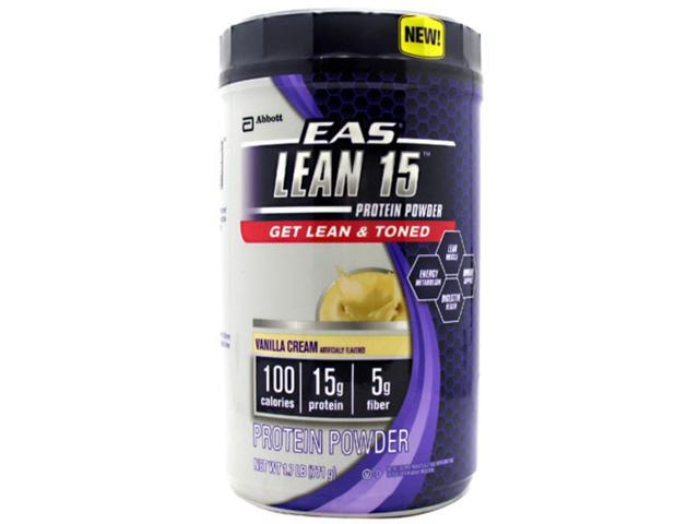 EAS, Lean 15 Vanilla Cream 1.7lb