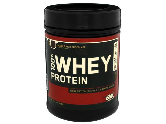 100% Whey Protein - Chocolate - Optimum Nutrition - 1 lbs - Powder