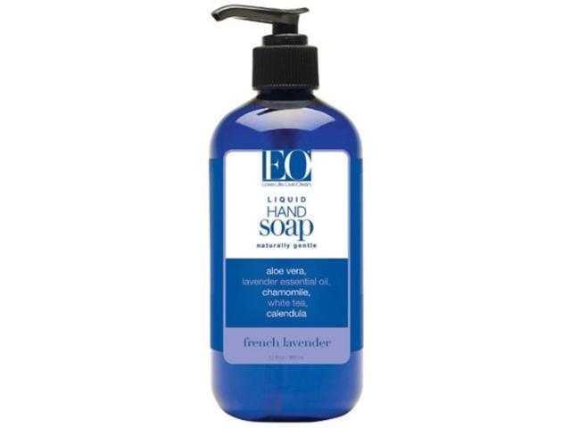 Liquid Hand Soap French Lavender - EO - 12 oz - Liquid