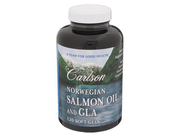 Norwegian Salmon Oil And GLA (Omega 3 & 6) - Carlson Laboratories - 120 - Softgel