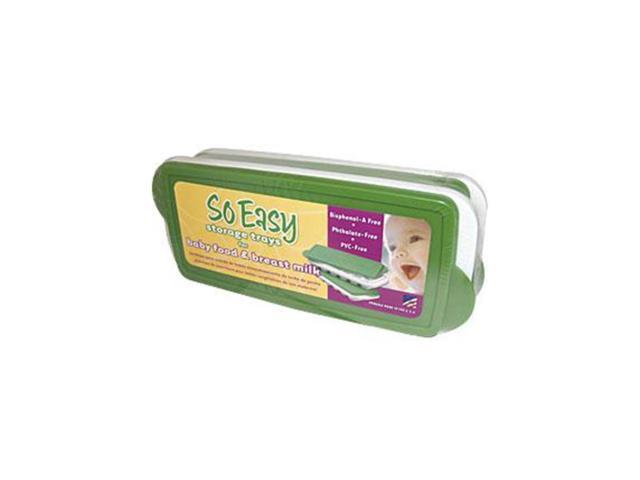 SO Easy Baby Food Freezer Trays w/Lids - Fresh Baby LLC - 2 - Set