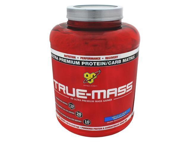 True-Mass, VANILLA, 5.75 lbs, True Mass, From BSN