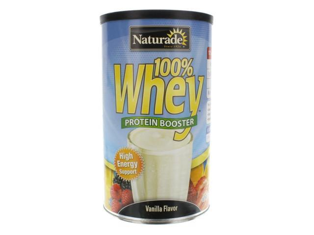 Whey Protein (100%)-Vanilla - Naturade Products - 12 oz - Powder