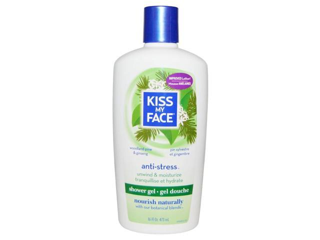 Shower and Bath Gel-Anti Stress - Kiss My Face - 16 oz - Liquid