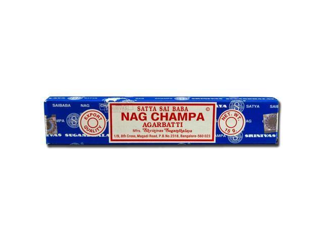 Sai Baba, Nag Champa Agarbatti Incense 15 Grams