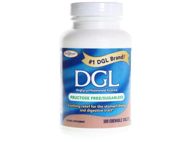 Enzymatic Therapy DGL Licorice Extract 100 chewable tablets