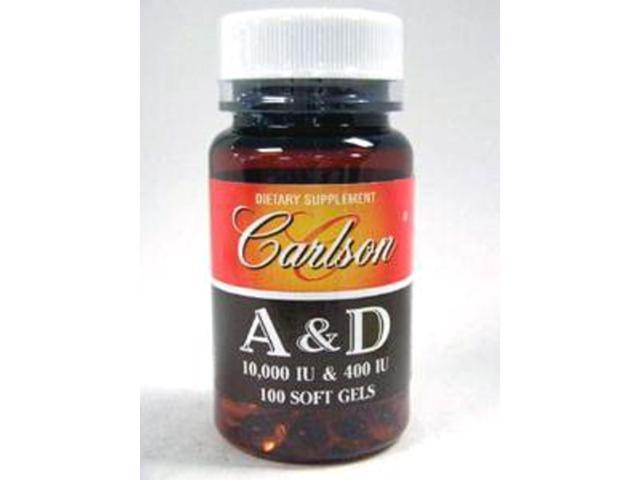Carlson Labs Vitamin A & D 100 gels