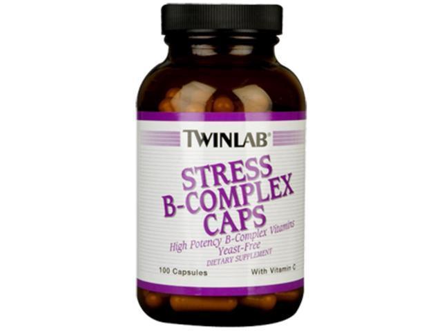 Twinlab Stress B-Complex 100 Capsules