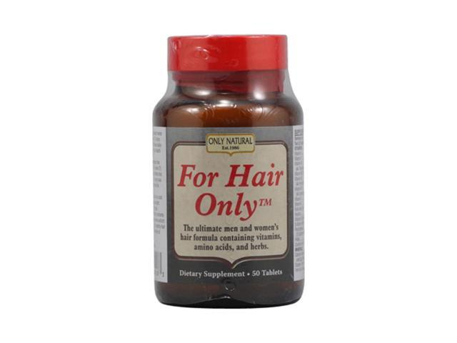 Only Natural  For Hair Only 50 Tablets