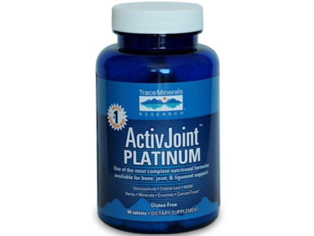 Trace Minerals Research ActivJoint  Platinum 90 tabs