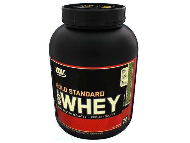 100% Whey Protein, Chocolate Mint, 5 lbs, From Optimum Nutrition