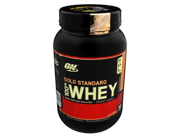 100% Whey Protein, Strawberry Banana, 2 lbs. Gold Standard Protein From  Optimum Nutrition