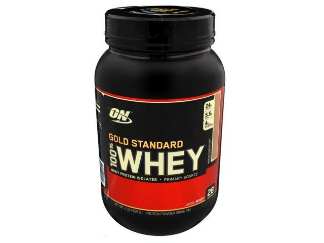 Gold Standard 100% Whey Mocha Cappuccino - 2 lb (909 Grams) by Optimum Nutritio