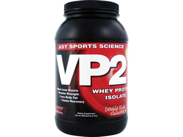 VP2, Whey Protein Isolate, Chocolate, 2 lbs, From AST