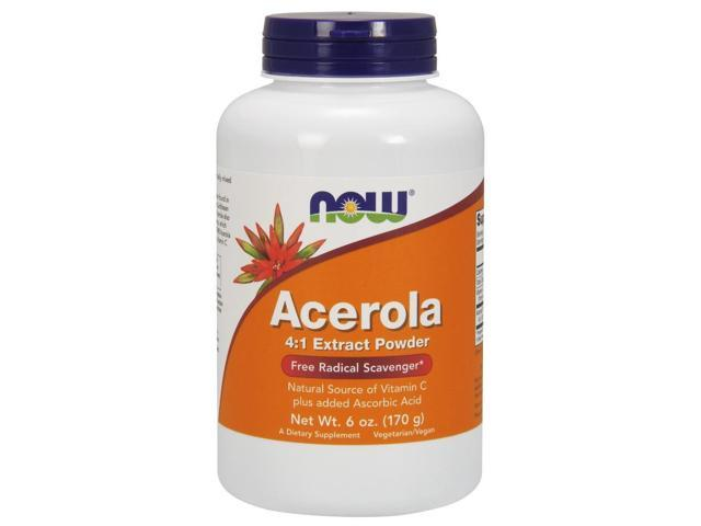 Acerola Powder - Now Foods - 6 oz - Powder