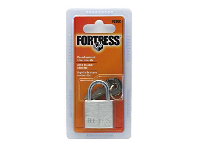 Master Lock 1-.19in. Solid Brass Padlock  1830D