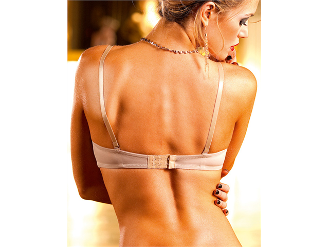 Skin Colored Four Way Convertible Bra