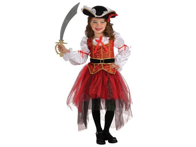 Child Princess of The Seas Pirate Costume Rubies 884563