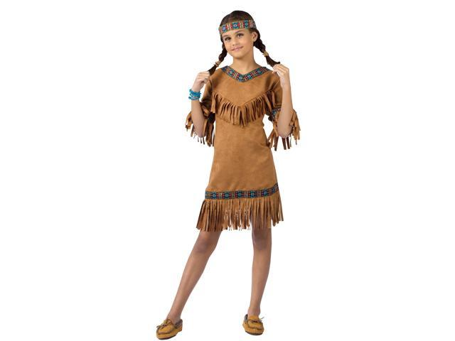 Native American Girl Costume Child Small