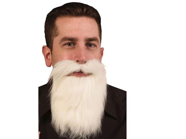 White Mustache/Beard Duck Dynasty Biker Rabbi