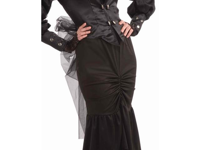 Steampunk Jacket w/Sheer Netting &Skirt Costume Adult Size Standard