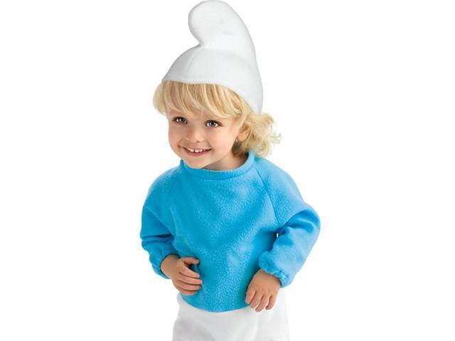 Smurf Ez On Romper Baby Costume 0-6
